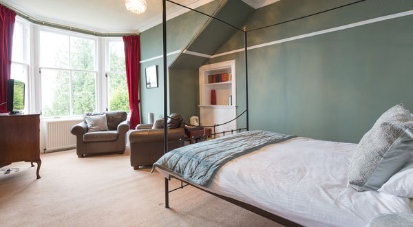 Benmore - Sea-Facing Bedroom